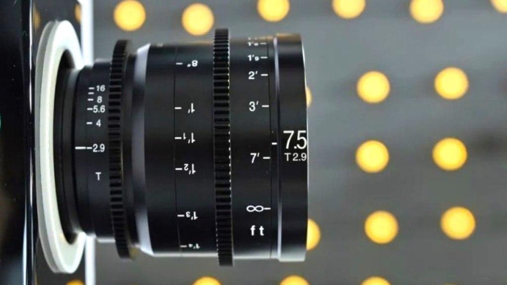 Cinéma Laowa 7.5mm T2.9.  Image : Sightron Japon