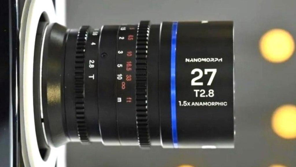 Laowa S35 Anamorphique 27mm T2.8 1.5X Ciné.  Image : Sightron Japon