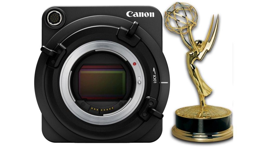Canon ME20F-SH en tant que récipiendaire du Technology & Engineering Emmy 2020