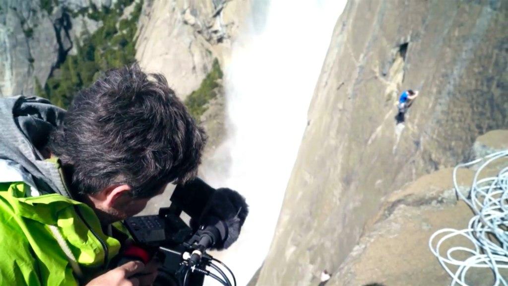 Free Solo : Canon C300 Mark II en action : Capture d'écran de Canon