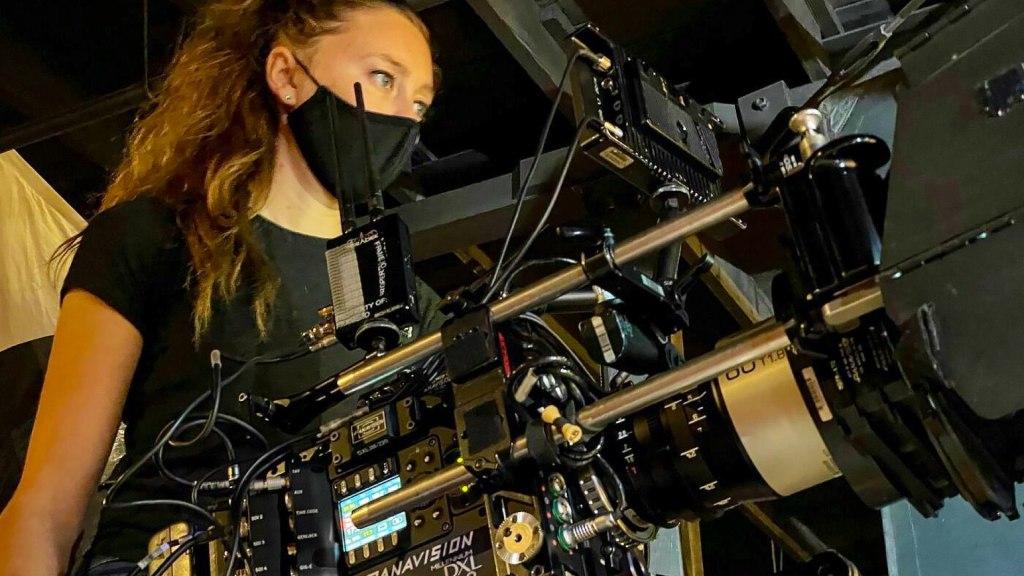Le Panavision DXl2.  Photo : Alissa Rooney