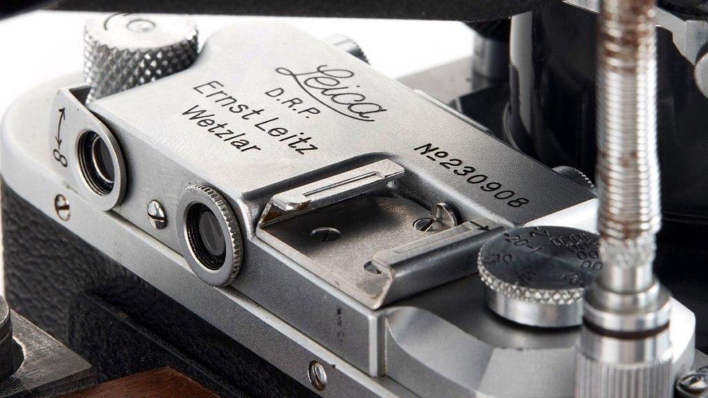 L'appareil photo du Leica Gun Rifle
