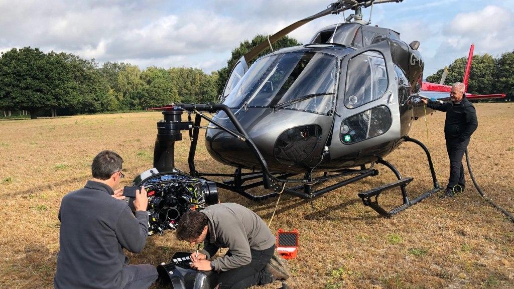 HFS Typhon2 Heli Hankley Commun.  Image - aérien, dp, Jeremy Braben, Assoc.  BSC, Hélicoptère Film Services