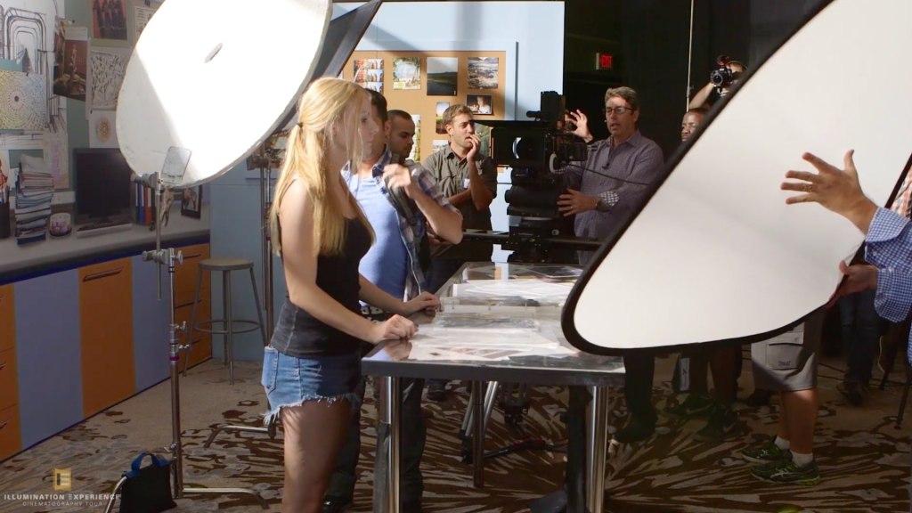 Cours MZed: Illumination Cinematography Workshop par Shane Hurlbut ASC, Lighting the scene from Crazy/Beautiful