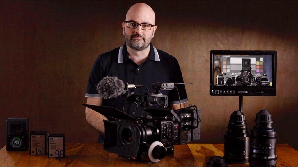 Cours MZed: Introduction à l'appareil photo Canon C500 MkII