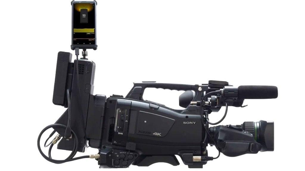 Xperia Pro et caméscope Sony