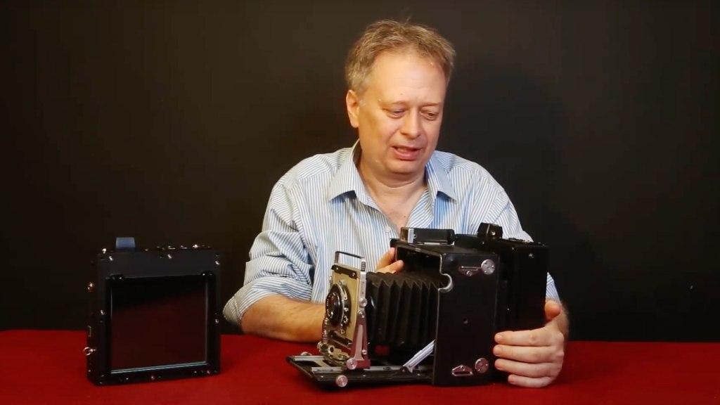 Bill Charbonnet démontre l'option de montage LS45
