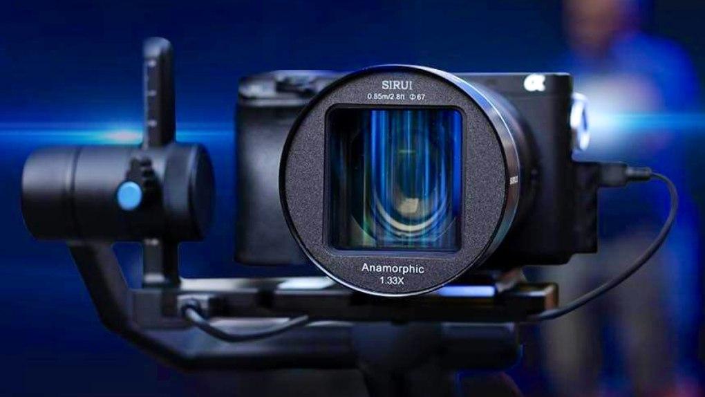 SIRUI 50mm f/1.8 Anamorphique 1.33x
