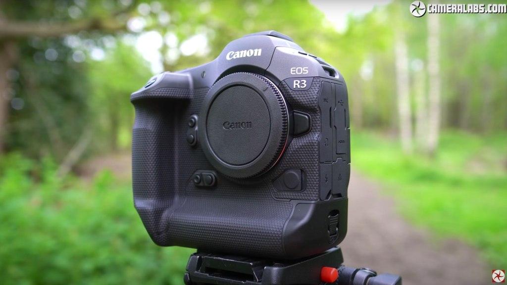 Canon EOS R3 : « L'appareil photo sans miroir le plus robuste à ce jour ».  Photo de Gordon Laing