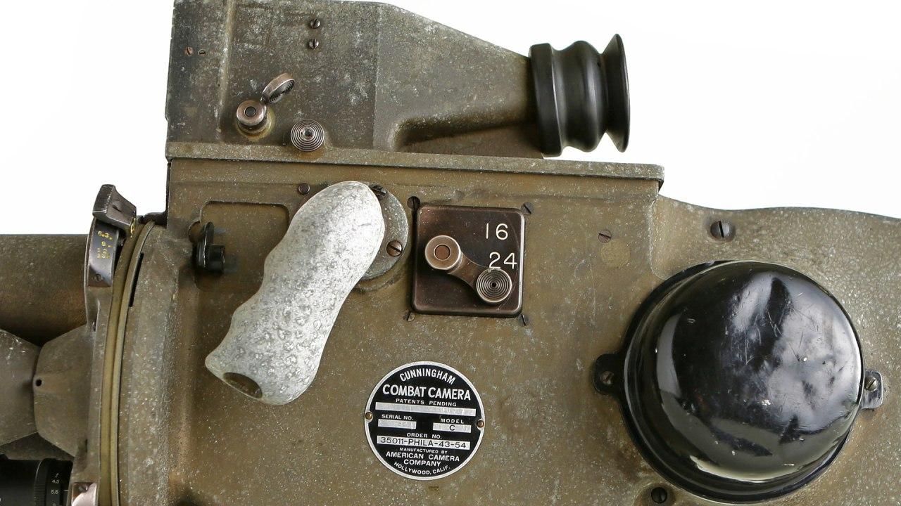 Caméra de combat Cunningham: basculement entre la fréquence d'images. Image: cinéaste américain