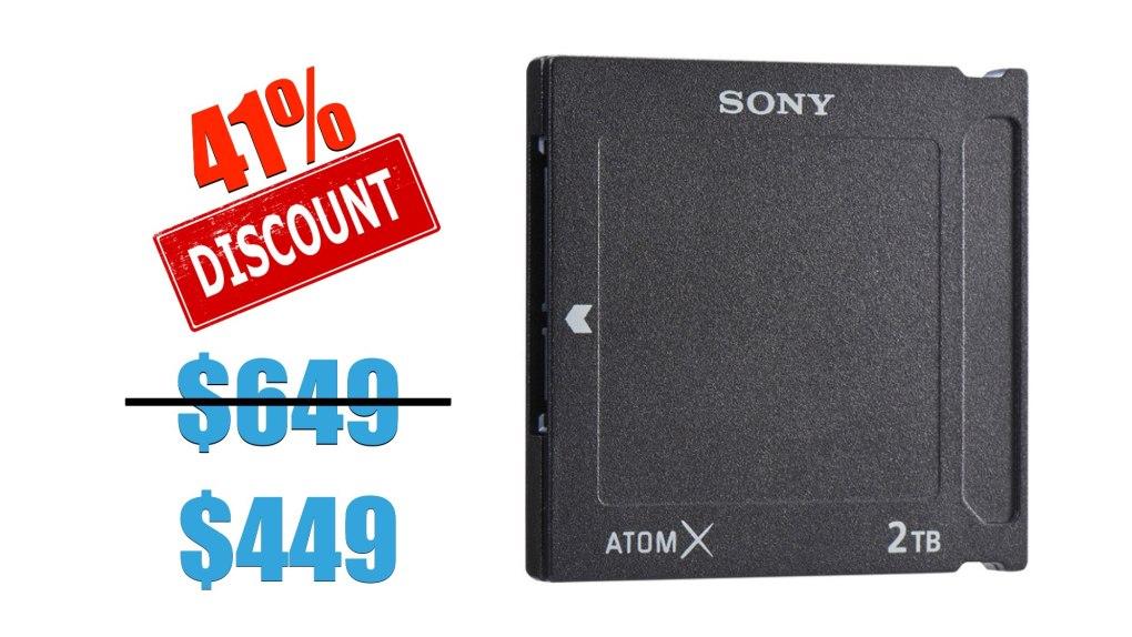 Sony AtomX SSDmini (2 To)