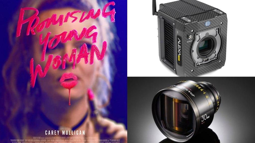 «Jeune femme prometteuse» (Focus): DP: Benjamin Kracun.  Caméras : ARRI ALEXA Mini.  Objectifs : Panavision G-Series Anamorphic