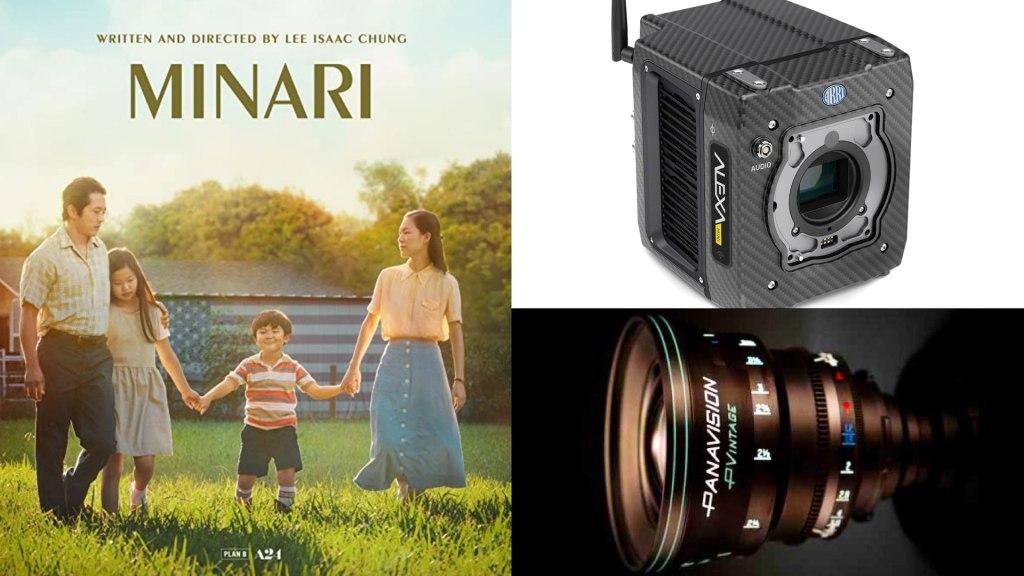 « Minari » (A24) : DP Lachlan Milne.  Caméras : ARRI ALEXA Mini.  Verres : Panavision P Vintage