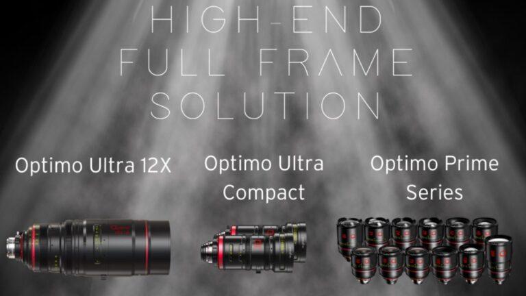 Angénieux annonce deux nouveaux zooms ultra-compacts Optimo plein format