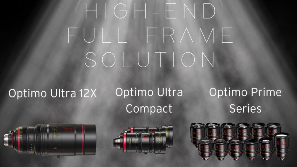 Solutions full-frame haut de gamme Angénieux