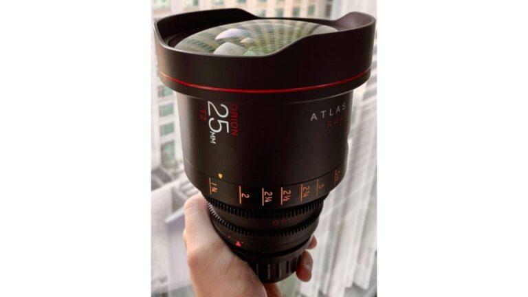 Atlas Lens Co. a présenté un modèle de production du nouvel Orion 2X Anamorphic 25mm T2