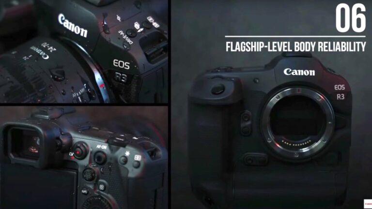 Canon EOS R3 – Aperçu des faits saillants par Canon Asie