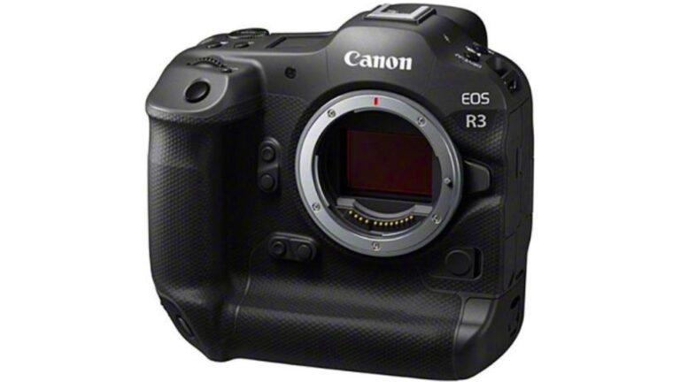 Canon EOS R3 : fuite d'autres images