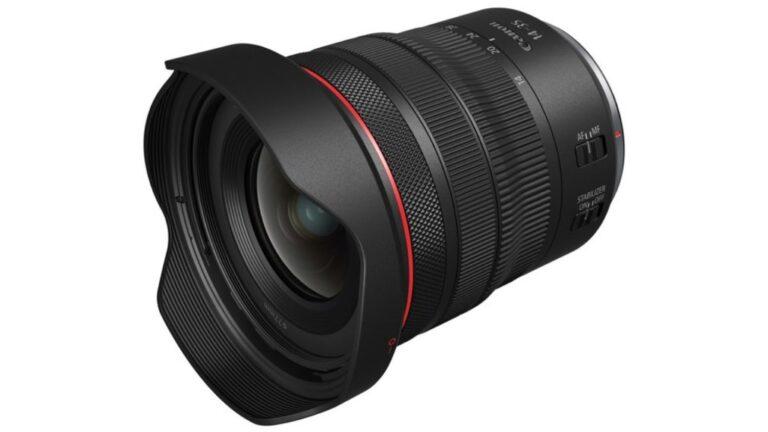 Canon annonce le RF14-35mm F4 L IS USM : un nouvel objectif zoom ultra-large pour les systèmes EOS-R