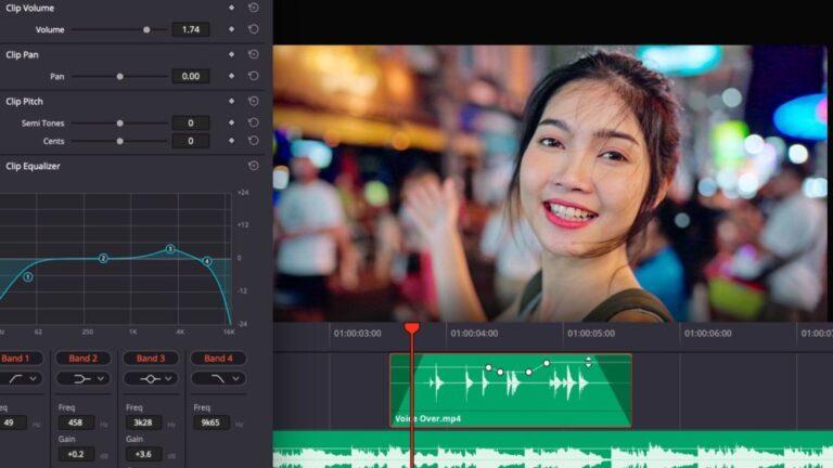 DaVinci Resolve 17.2: mise à jour complète axée sur la conception sonore (Fairlight)