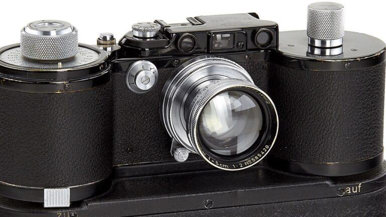 De rares appareils photo Leica sont vendus aux enchères pour 400 000 $ chacun