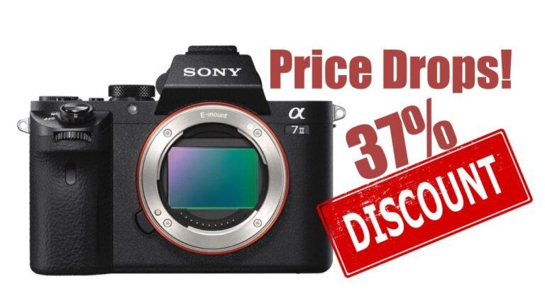 Kit Sony Alpha a7 II – Prix le plus bas jamais vu : 37% de réduction !  Maintenant seulement 998 $