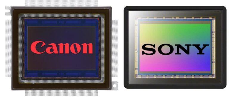 La bataille MP (MegaPixel) : Canon contre Sony