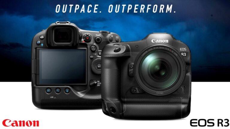 La vitesse est la principale caractéristique du Canon EOS R3, déclare le développeur commercial de produits chez Canon Italia