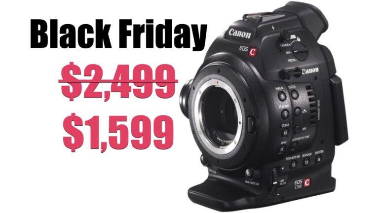 Le joyau du Black Friday Filmmakers : la caméra de cinéma Canon C100 pour seulement 1599 $