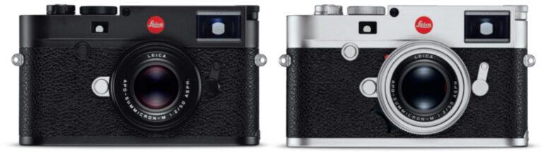 Leica M10-R annoncé : un appareil photo fixe à 8 300 $