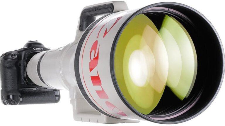 L'objectif AF le plus long du monde est à vendre (prix d'origine : 90 000 $) : découvrez le Canon EF 1200mm f/5,6 L USM