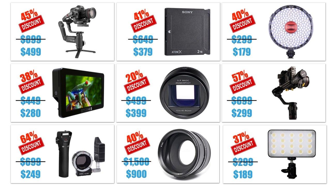 Meilleures offres de la semaine : 30/3/20- SLR Magic, ikan, SmallHD, Aputure, Zhiyun et plus