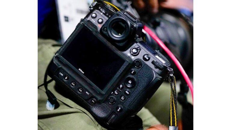 Nikon Z 9 repéré aux Jeux olympiques.  Image : Photolari