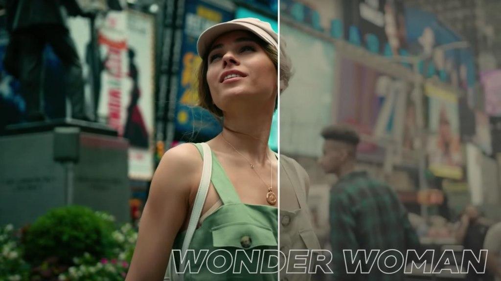 La LUT Wonder Woman.  Image: Centre d'étalonnage des couleurs