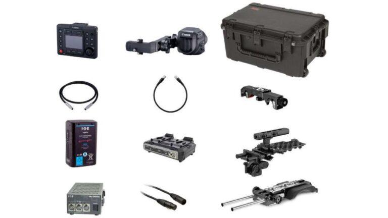Offre officielle Canon: 5000$ de rabais à l'achat du C700 avec le pack de production