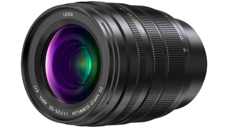 Panasonic annonce l'objectif Leica DG Vario-Summilux 25-50mm f/1.7 ASPH