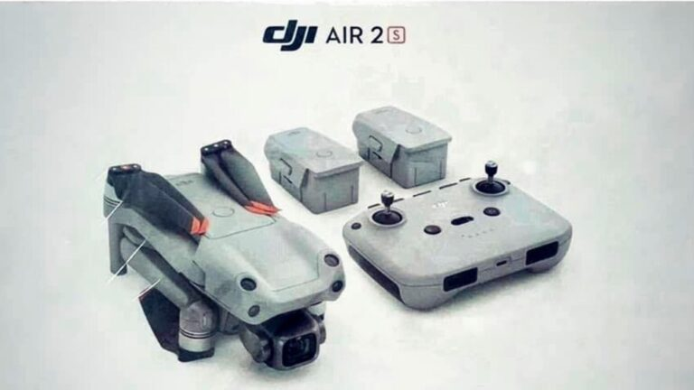 Rumeur – Spécifications DJI AIR 2S: Capteur 1 pouce, 20MP, 5.5K, 12bit et 50FPS