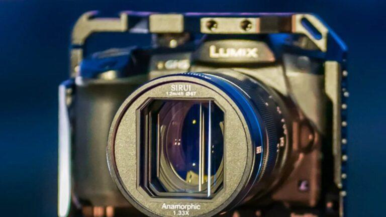 SIRUI annonce un nouvel objectif anamorphique : le 75 mm f1.8 1.33x