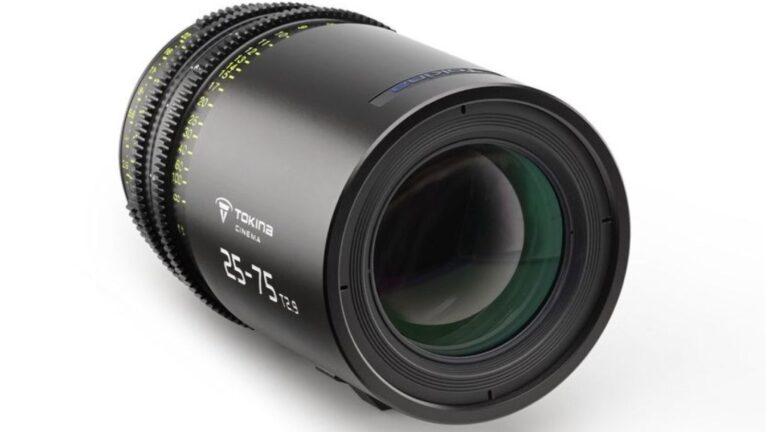 Tokina Cinema 25-75mm T2.9 est prêt pour la précommande : le prix est de 5 000 $