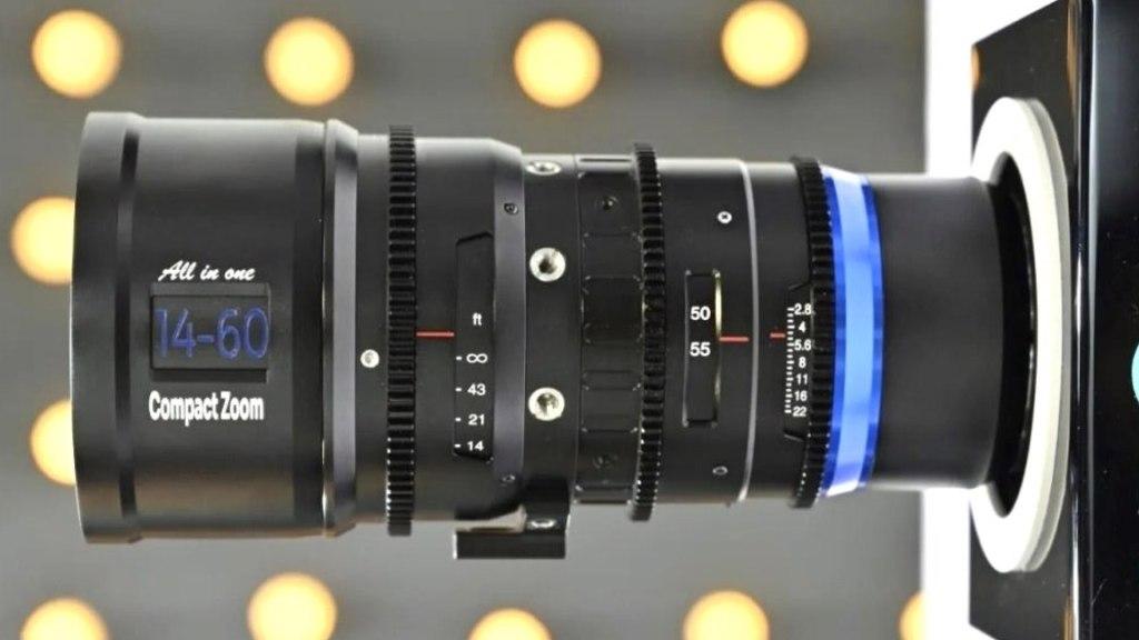 Laowa MFT 14-60mm, T2.9 Ciné.  Image : Sightron Japon