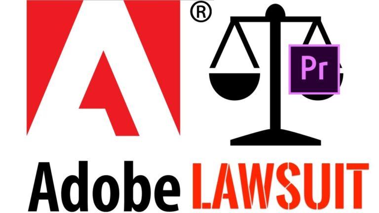 Video Editor poursuit Adobe (Premiere Pro) pour suppression d'une vidéo de 250 000 $