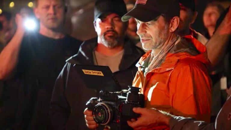 Zack Snyder a tiré sur l'intégralité de «l'armée des morts» à grande ouverture (f0.95)