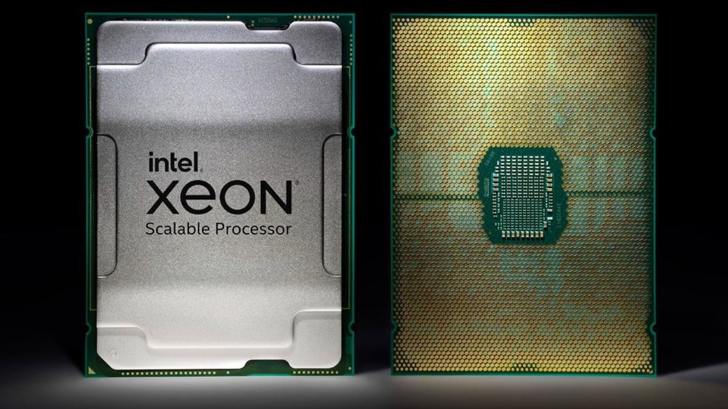 Le Xeon W-3300.  Image: Intel