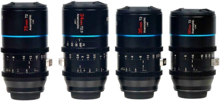 Sirui présente l'ensemble de lentilles anamorphiques Mars 1,33x pour Micro 4/3.  Prix : 4 000 $