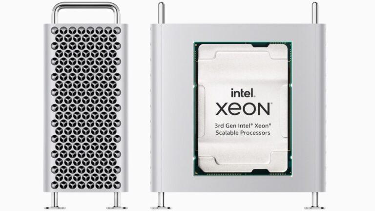 Intel Mac Pro avec le Xeon W-3300