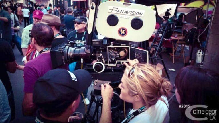 Salon de l'équipement de cinéma.  Image: équipement de cinéma