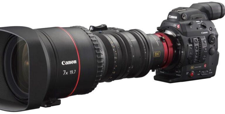 Voici les spécifications complètes de l'appareil photo Canon Cinema EOS 8K
